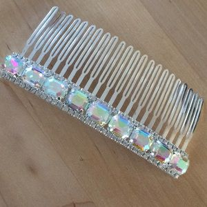 AB rhinestone comb